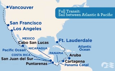 discover Princess Panama Canal cruises video